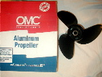 Genuine OMC Evinrude and Johnson propellers available in all sizes and types.